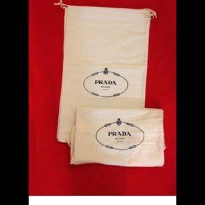 Prada shoes dust bag